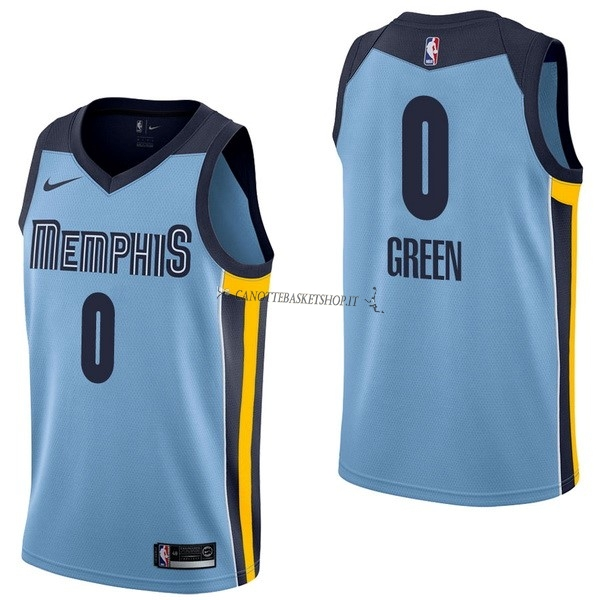 Comprare Maglia NBA Nike Memphis Grizzlies NO.0 JaMychal Green Blu Statement