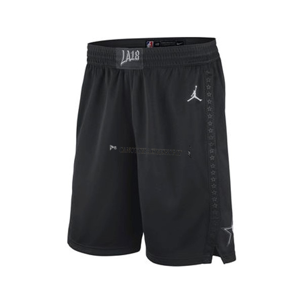Comprare Pantaloni Basket 2018 All Star Nero