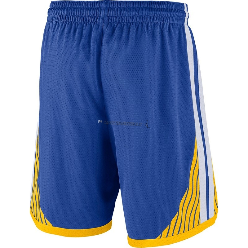 Comprare Pantaloni Basket Golden State Warriors Nike Blu
