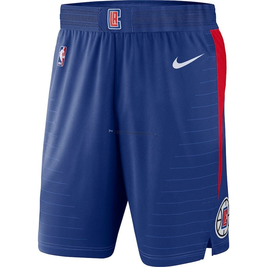 Comprare Pantaloni Basket Los Angeles Clippers Nike Blu Icon 2018
