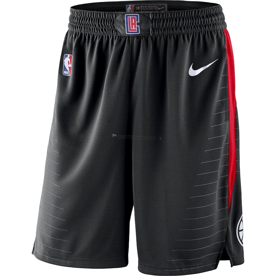 Comprare Pantaloni Basket Los Angeles Clippers Nike Nero Statement 2018