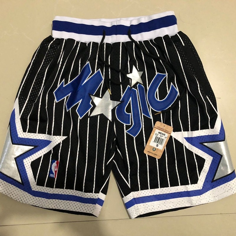 Comprare Pantaloni Basket Orlando Magic Nero