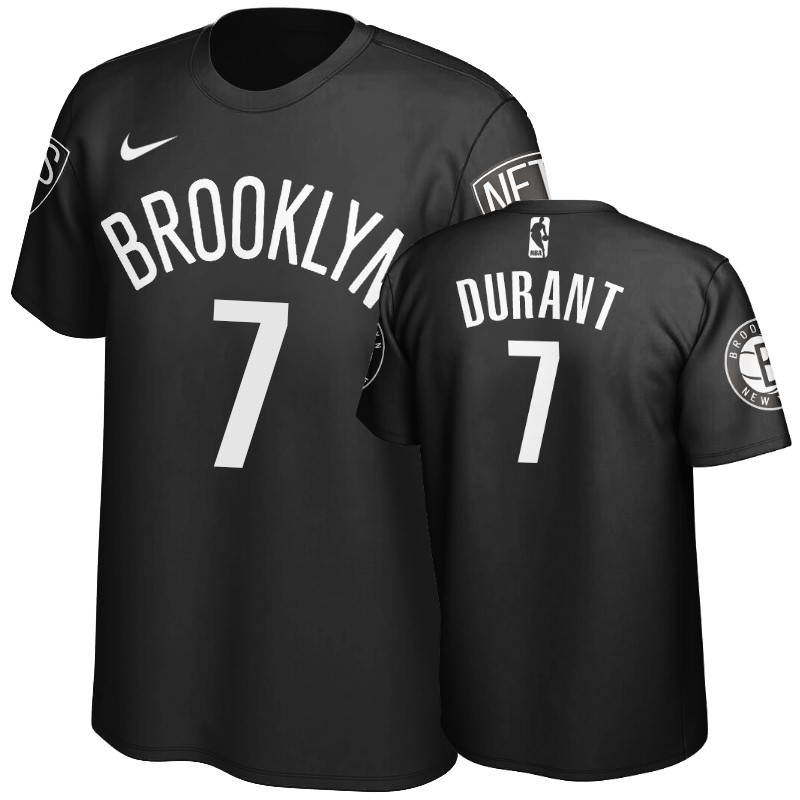 Comprare T-Shirt Brooklyn Nets Kevin Durant Nero