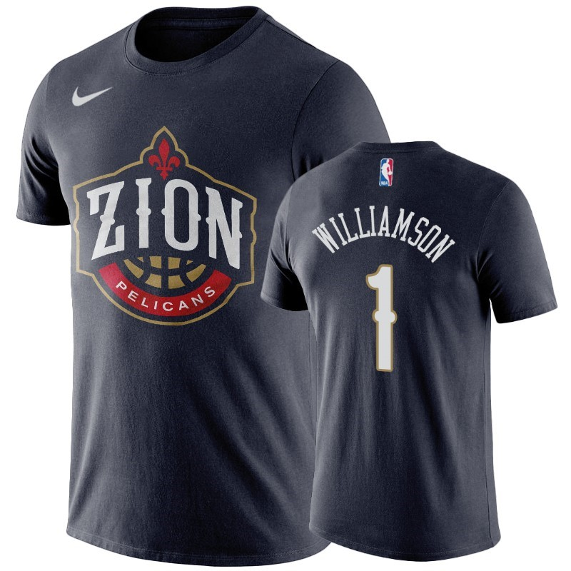Comprare T-Shirt New Orleans Pelicans Zion Williamson Marino