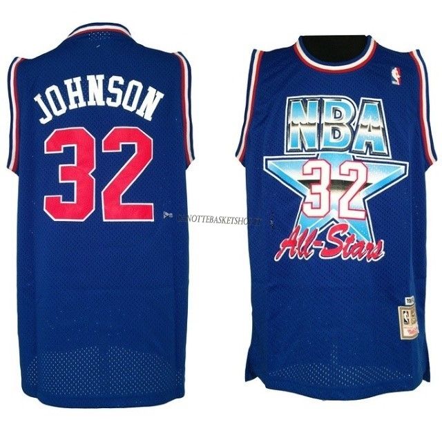 Comprare Maglia NBA 1992 All Star NO.32 Joe Johnson Blu
