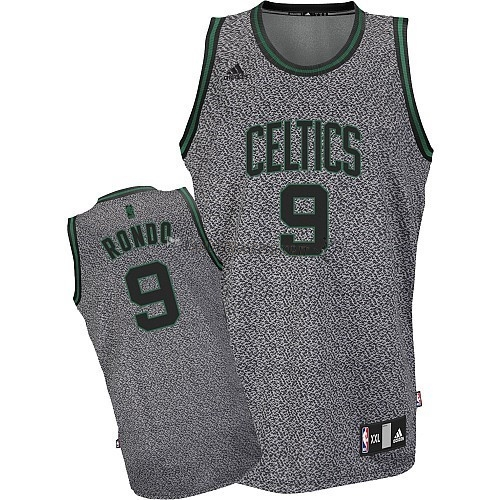 Comprare Maglia NBA 2013 Fashion Statico Boston Celtics NO.9 Rondo