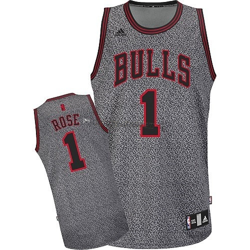 Comprare Maglia NBA 2013 Fashion Statico Chicago Bulls NO.1 Rose