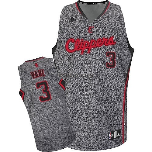 Comprare Maglia NBA 2013 Fashion Statico Los Angeles Clippers NO.3 Chris Paul