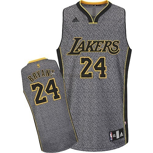 Comprare Maglia NBA 2013 Fashion Statico Los Angeles Lakers NO.24 Bryan