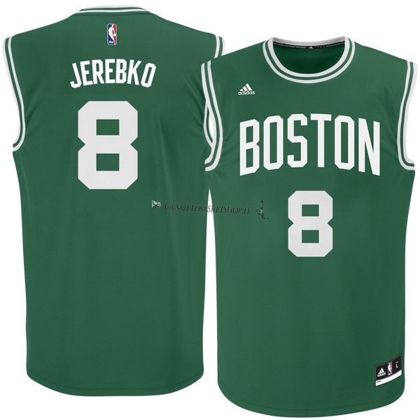 Comprare Maglia NBA Boston Celtics No.8 Jeff Green Verde