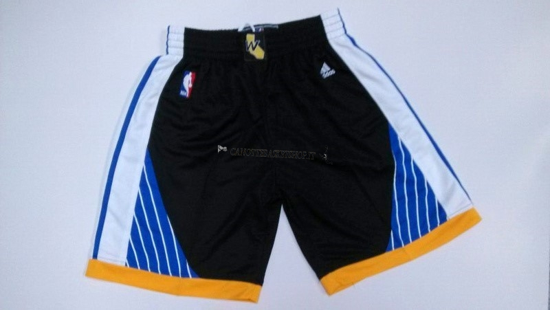 Comprare Pantaloni Basket Golden State Warriors Nero