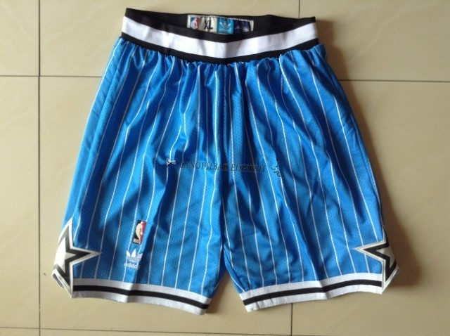 Comprare Pantaloni Basket Orlando Magic Blu Striscia