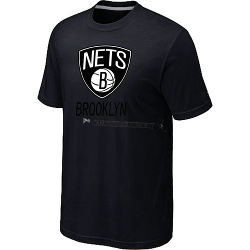 Comprare T-Shirt Brooklyn Nets Nero