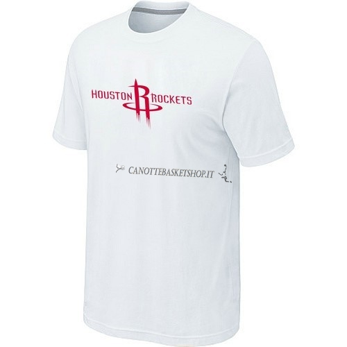 Comprare T-Shirt Houston Rockets Bianco 001