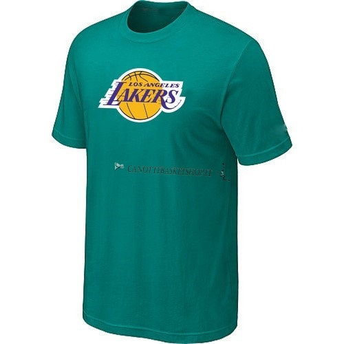 Comprare T-Shirt Los Angeles Lakers Verde